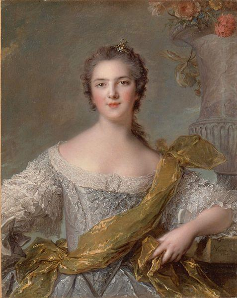 Jean Marc Nattier Madame Victoire of France oil painting picture