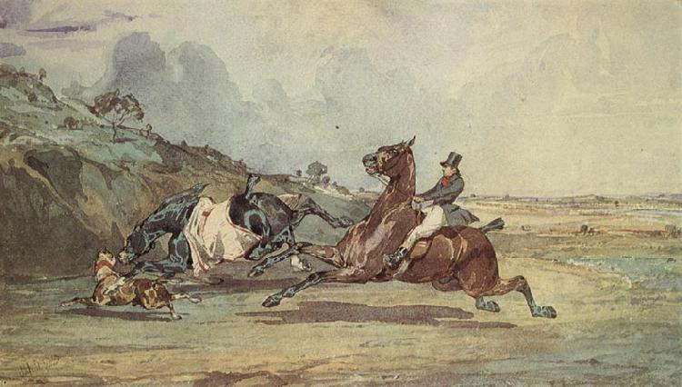 Alfred de Dreux The Runaway Sweden oil painting art