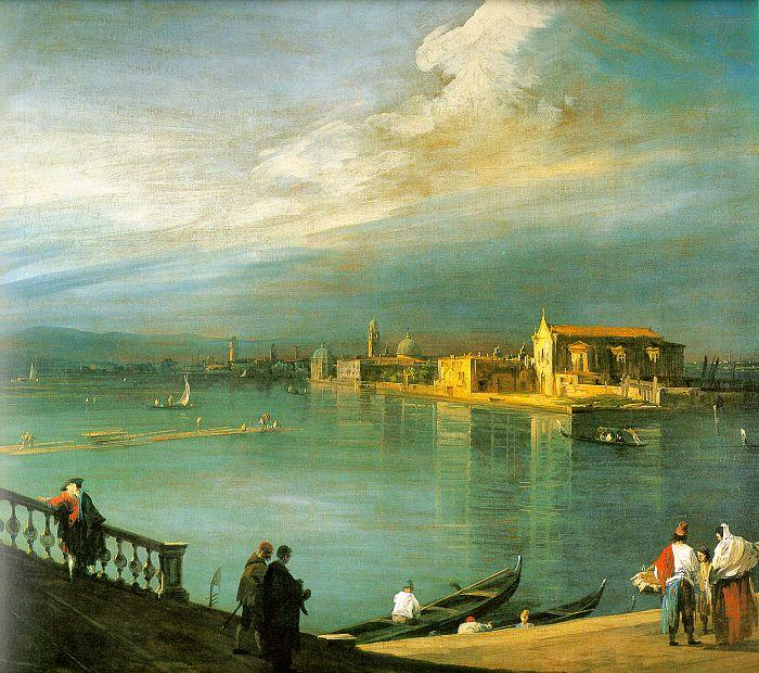 Canaletto San Cristoforo Sweden oil painting art