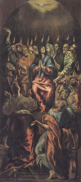 El Greco Pentecost oil painting picture