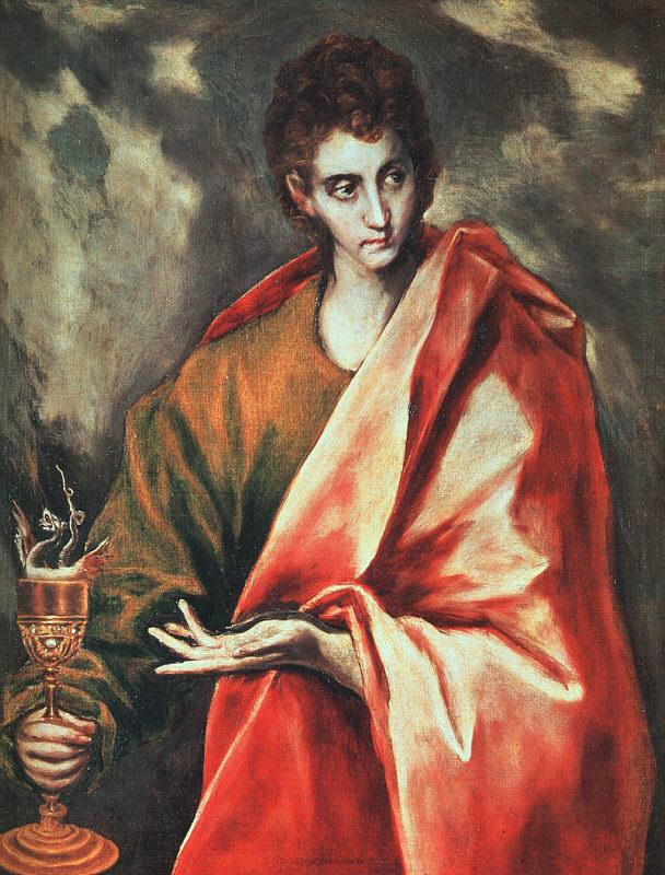 El Greco St. John the Evangelist oil painting picture