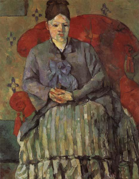 Paul Cezanne Madame Cezanne in a Red Armchair oil painting image
