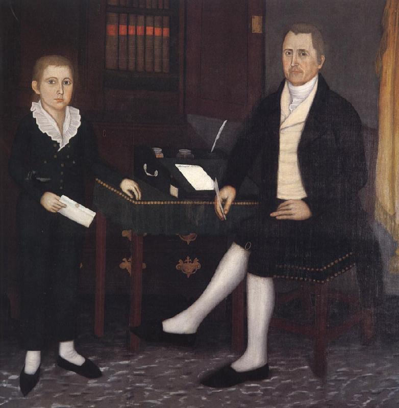 Brewster john James Prince and Son William Henry oil painting image