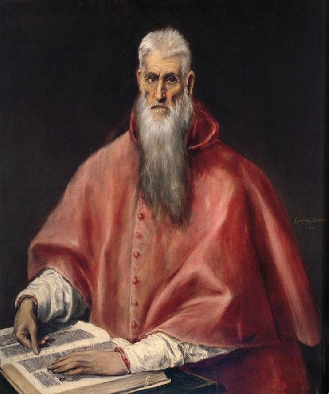 El Greco St.Jerome oil painting picture