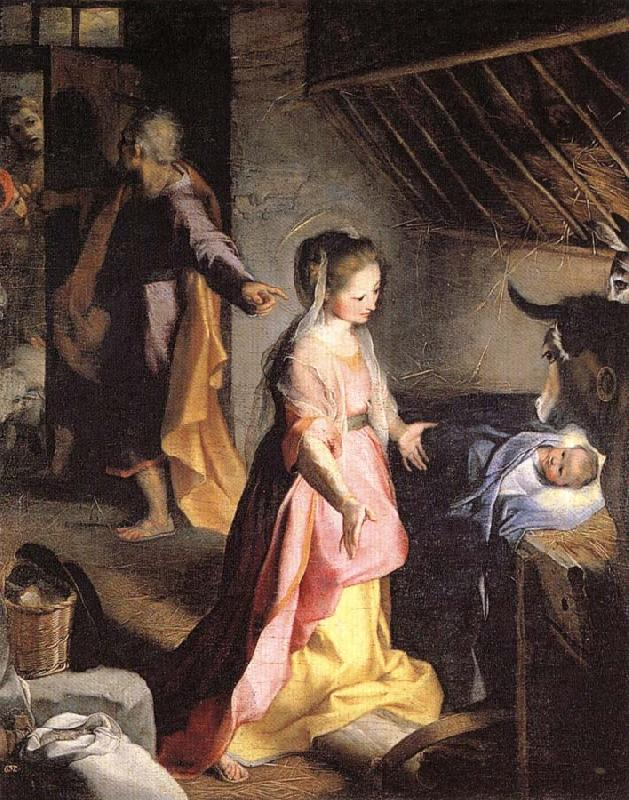 Federico Barocci The Nativity oil painting picture