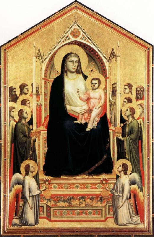 GIOTTO di Bondone Madonna in Majesty oil painting picture