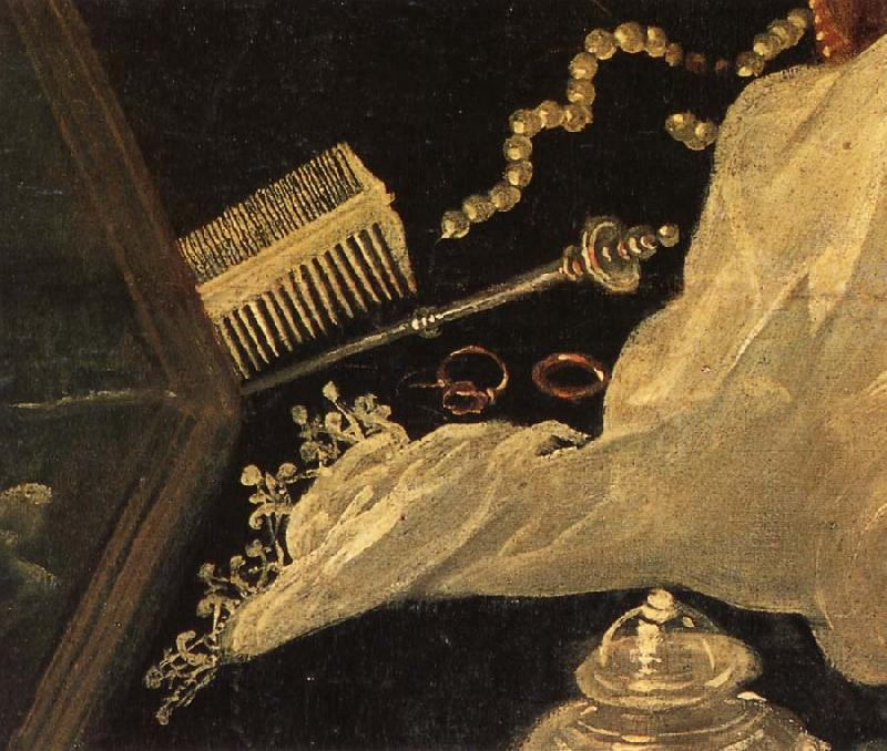 Tintoretto Details of Susanna and the Elders oil painting picture