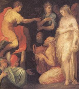 ABBATE, Niccolo dell The Continence of Scipio (mk05) oil painting image