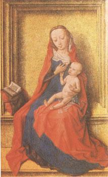 Dirck Bouts The Virgin Seated with the Child (mk05) oil painting image