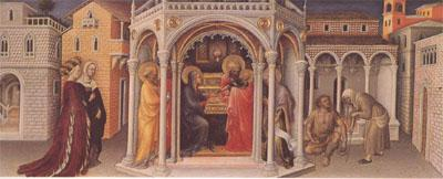 Gentile da Fabriano The Presentation at the Temple (mk05) oil painting image