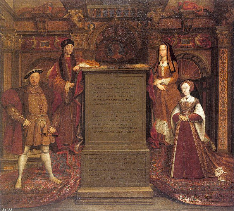 Leemput, Remigius van Copy after Hans Holbein the Elder's lost mural at Whitehall oil painting image