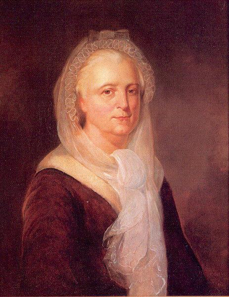 Meade, Francis Portrait of Martha Washington oil painting image