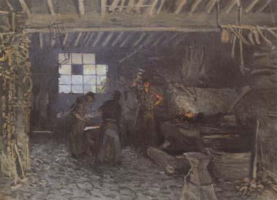 Alfred Sisley The Forge at Marly-le-Roi (san34) oil painting image