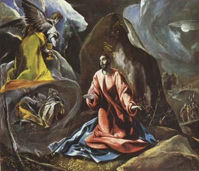 El Greco The Agony in the Garden (mk08) oil painting picture