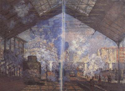 Claude Monet Gare Saint-Lazare (nn02) oil painting image