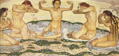 Fernand Hodler Day I (mk19) oil painting image