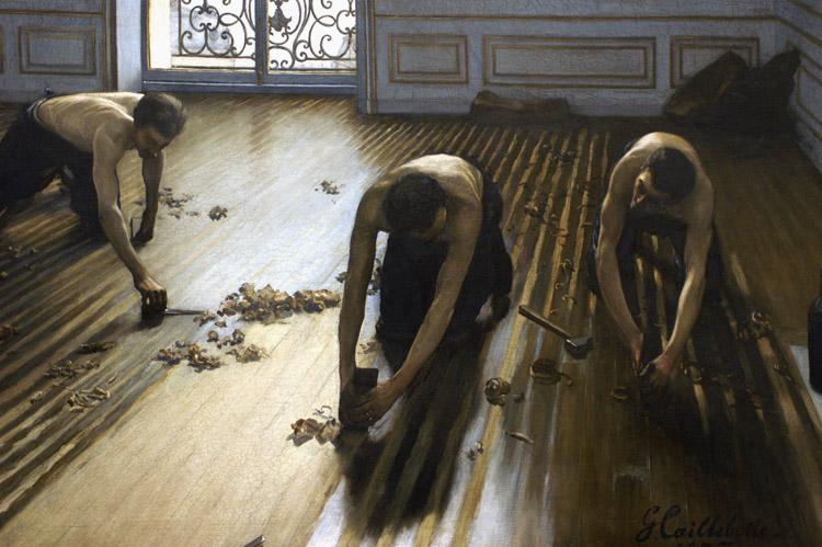 Gustave Caillebotte The Floor Scrapers (nn020 oil painting image