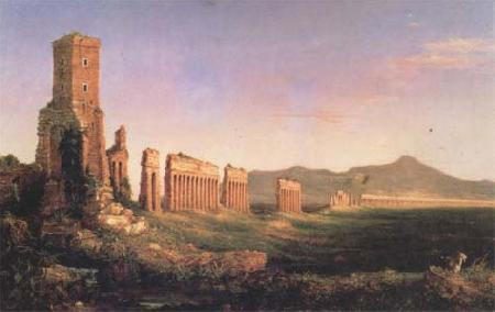 Thomas Cole Aqueduct near Rome (mk13) oil painting image