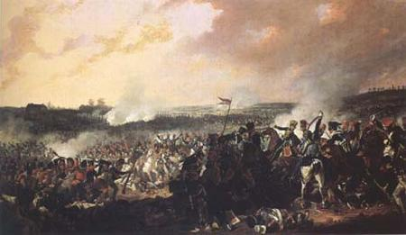 Denis Dighton The Battle of Waterloo: General advance of the British lines (mk25) oil painting image
