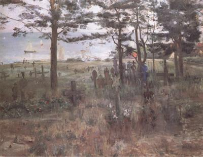 Lovis Corinth Fishermen's Cemetery at Nidden (nn02) oil painting image