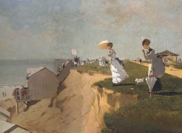 Winslow Homer Long Branch,New Jersey (mk44) oil painting image