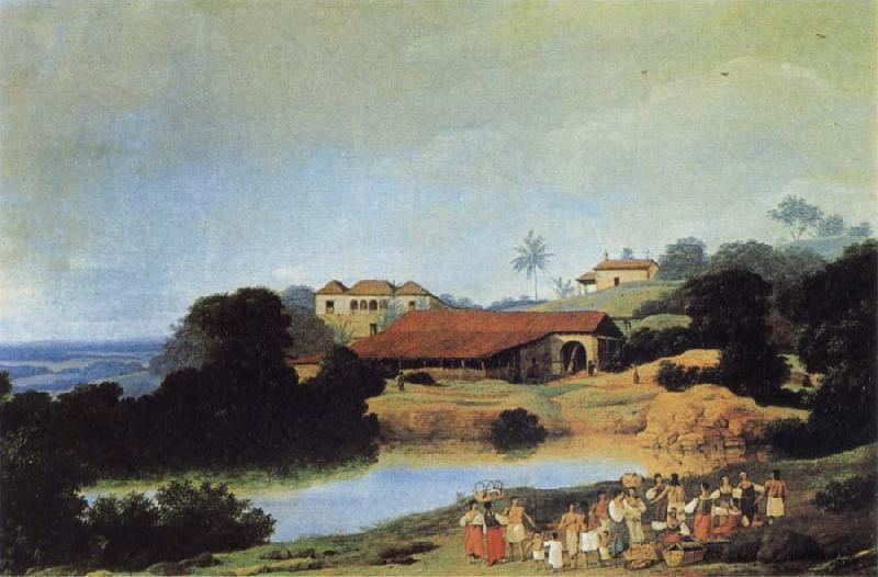 Frans Post Hacienda oil painting picture