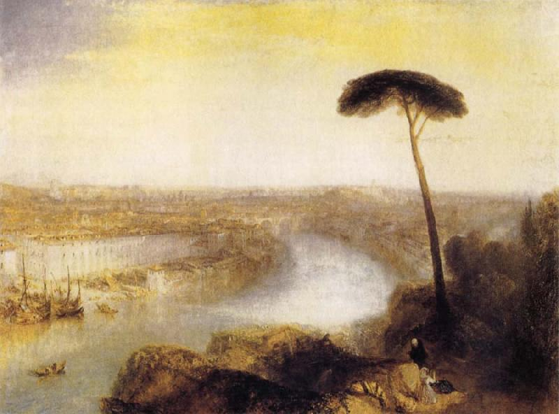 J.M.W. Turner Rome from Mount Aventine oil painting image