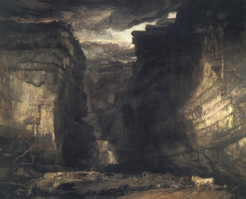James Ward Gordale Scar oil painting image