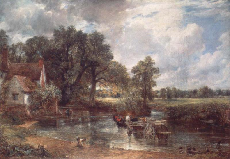 John Constable The hay wain oil painting image