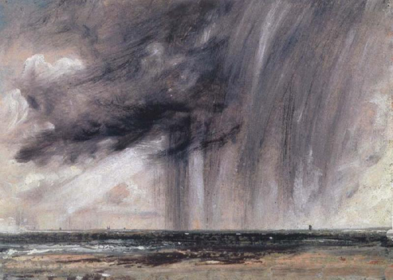 John Constable Rainstorm over the sea oil painting image