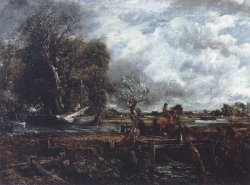 John Constable The leaping horse oil painting image