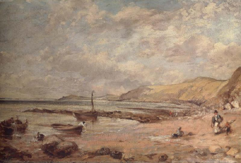 John Constable Osmington Bay oil painting image